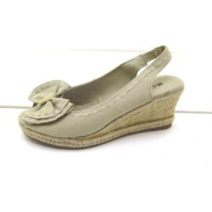 NEW Womens Naturalizer Bola Espadrille Natural 6.5